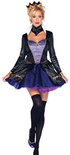 Karnevalsbud - Damen Evil Queen Teufelskönigin Kostüm , M, ()