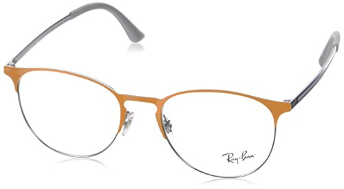 Ray-Ban Unisex-Erwachsene Brillengestell 0rx 6375 2949 51, Orange