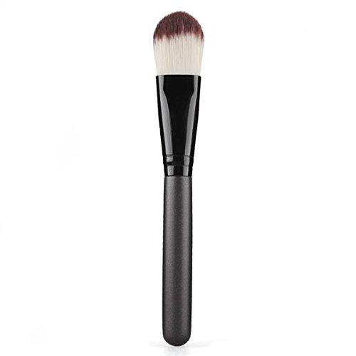 pro-pennello-trucco-cosmetico-makeup-fondotinta-di-pelame-sintetico-legno