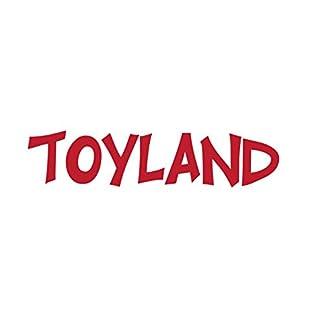Toyland-Packung-mit-2-26cm-roten-Lametta-Bumen-Weihnachtsschmuck