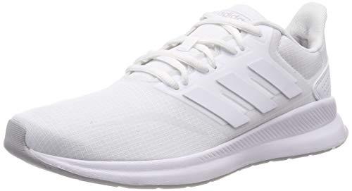 adidas Herren Runfalcon Laufschuhe, Weiß (Footwear White/Footwear White/Grey 0), 43 1/3 EU