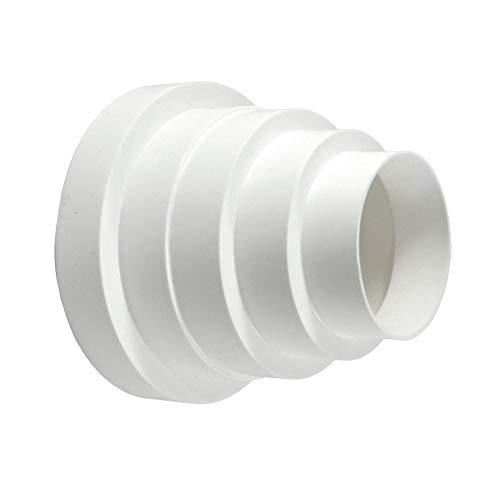 calimaero Redk Conector Reducción Tubo Transición Ventilación Universal 80 100 125 150 mm