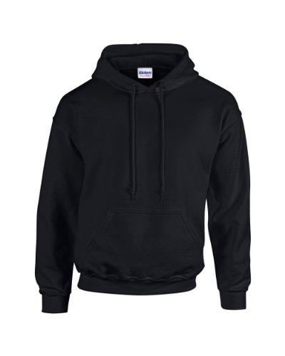 Gildan - Unisex Kapuzenpullover \'Heavy Blend\' , Black, Gr. S