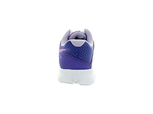 Nike Flex Experience 3 Bg Scarpe Sportive, Ragazzo Viola/Magenta chiaro/verde/bianco