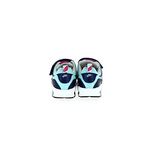 Nike - Nike Air Max Trax Tdv Scarpe Sportive Bambina Blu Celesti Pelle Tela Strappi 644474 Blu