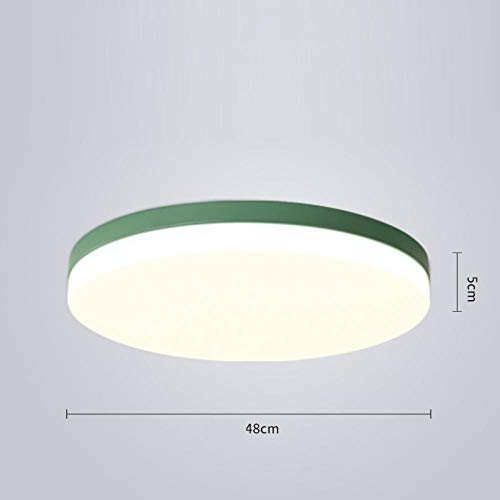 Lámpara de techo led 72W ronda 3 ajuste de color balcón baño...