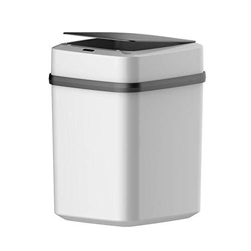 Kitabetty Bote de Basura Inteligente para el hogar, inducción automática con Tapa Sala de Estar Cocina...