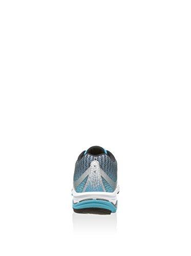 Mizuno Scarpe Running Wave Elevation Donna Silver/FuchsiaPurple/Bato Blu Chiaro/Argento