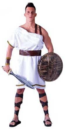 Imagen de disfraz de espartano