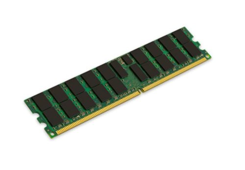 Kingston KVR400D2D4R3/4G Arbeitsspeicher 4GB (DDR2 ECC Registered CL3 DIMM 240-pin) - Pc2 3200 Ecc Registered-speicher