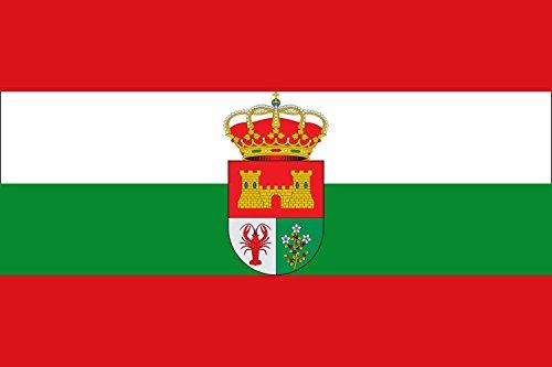 magFlags Bandera Large Aldeasoña, Segovia, España | Bandera Paisaje | 1.35m² | 90x150cm