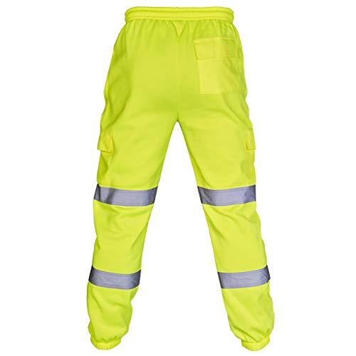 Epigeon Mode Multi-Pocket Hosen, Männer Straßenarbeit Hohe Sichtbarkeit Overalls Casual Pocket Work Casual Hosen Hosen