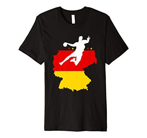 Deutschland Handball Fan T-Shirt Germany Team 2019