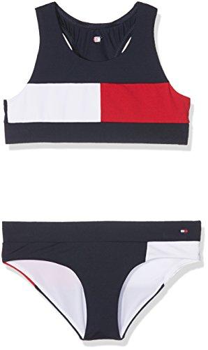 Tommy Hilfiger Girl's Bralette Bikini Swimwear Set