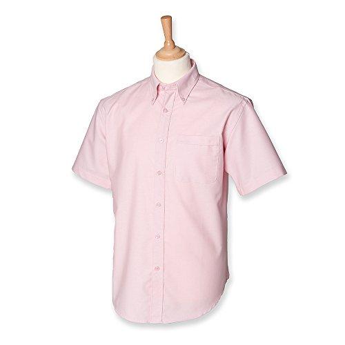 Henbury -  Camicia classiche  - Uomo Rosa
