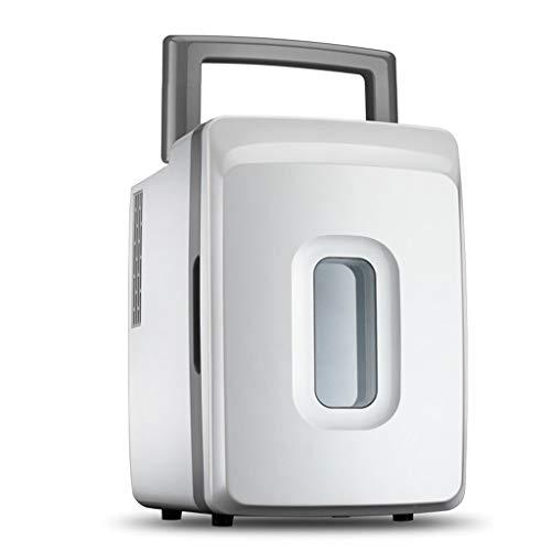WYJW 12L 12V DC 220V AC Kälteheizung Kühlschrank Kühlschrank Mini-Kühlschrank Kleinstkühlschrank für Privathaushalte Auto-Kühlschrank mit doppeltem Verwendungszweck (Farbe: A)