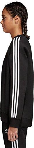 Adidas Crew felpa nero