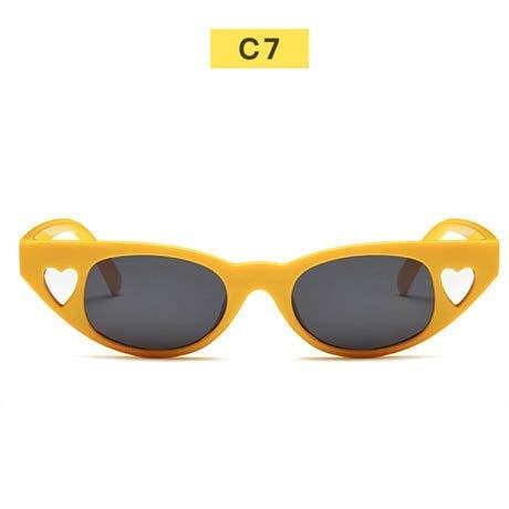 GFF Neue cat Eye Frauen Sonnenbrille Vintage herzförmige Sonnenbrille Marke Mode cateye Sonnenbrille weiblichen Brillen
