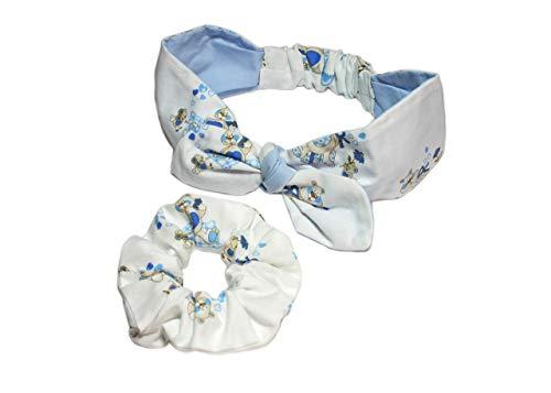 2 Stück. Baby Kinder Haarband. Mädchen Stirnband. Handgemacht. Kopfband. 12-24 Monaten. Haar Seil Ring. Haarschmuck Headband. Taufe Geschenksets. Baby headbands. Handmade. Made in Italy.