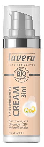 Lavera Tinted Moisturising Cream 3in1 Q10 -Ivory Light 01, 30 ml