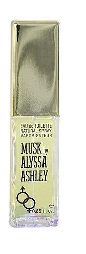 Alyssa Ashley Musk unisex, Eau de Toilette Vaporisateur 50 ml, 1er Pack (1 x 1 Stück)