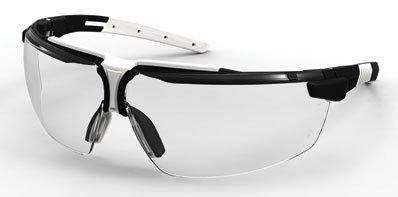 Uvex Schutzbrille i-3 | Farbe: klar/schwarz/grau
