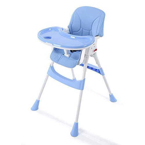 YANHTSO Chaise de Salle à Manger pour bébé Chaise de Table à Manger pour Enfant (Couleur : Bleu)