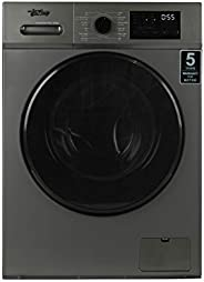 Terim 8/5 Kg Fully Automatic Washer Dryer, 1400 RPM, Dark Silver, TERWD8514MS