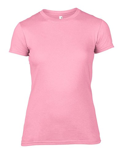 Anvil - T-shirt - Femme * taille unique Charity Pink