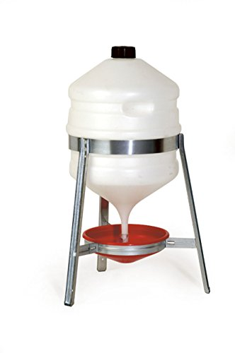 Poultry Drinker with Metal Stand - 30 litres Test