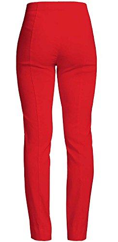 Ich will Marie Robell Damen Bengaline Stretchhose aus TV Frühjahr/Sommer 2017 rot(40)