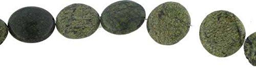 Green Lace Stone Coin 16mm Filo circa (16 Mm Coin)