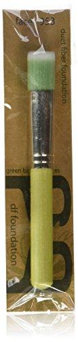 Bdellium Tools Pinceau de maquillage professionnel série Bambou en fibre de Duo de lampes de teint