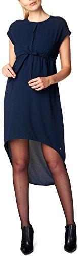 Esprit Maternity Dress Wvn Ss, Robe de Maternité Femme Bleu - Blau (Night Blue 486)