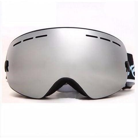 Nicelife Sci specchio nebbia doppia sfera grande specchio di neve può essere miopia, 3105 verde mela