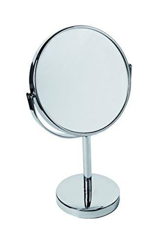 Gerson Miroir Chromé sur pied Grossissant x 5 Diamètre 15 cm Haut 28 cm