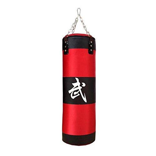 upantech saco de boxeo con cadena, saco vacío, 70cm, 80cm, 90cm