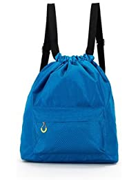 SWD Prime Travel Waterproof Storage Bag Wet Dry Seperated Drawstring Bag Lightweight Backpack