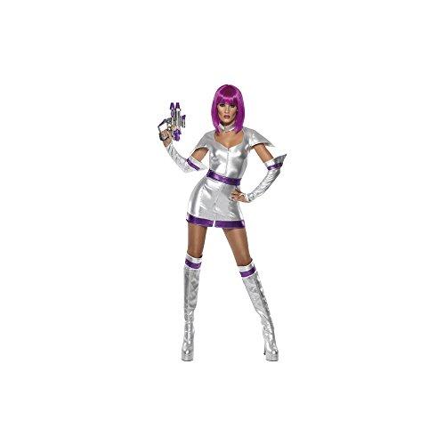 Smiffys Fever Damen Kostüm Weltraum Kadett Karneval Fasching Gr.M