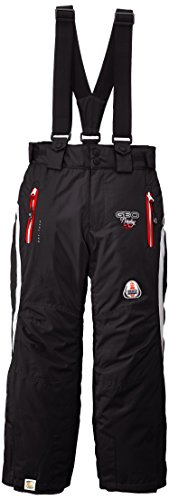 geographical-norway-wendy-pantalon-de-ski-fille-noir-rouge-fr-12-ans-taille-fabricant-12