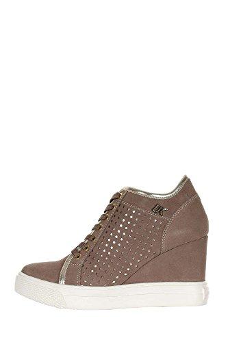 Lumberjack Damen Danielle Niedrige Sneaker Taupe