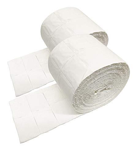 crisnails®, für 2x Rolle von 500St./1000Nägel Zellulose Hohe Qualität Tönungsfolie/Ideal für Nägel