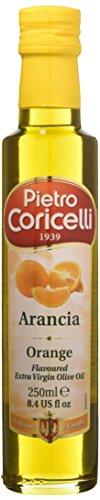 Pietro coricelli olio extra vergine di oliva aromatizzato all'arancia - confezione da 12 pezzi, totale: 5. 88 kg