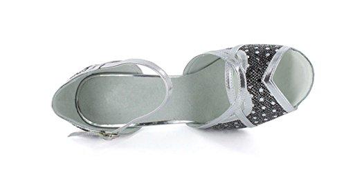 TDA - Ballroom donna Black/Silver