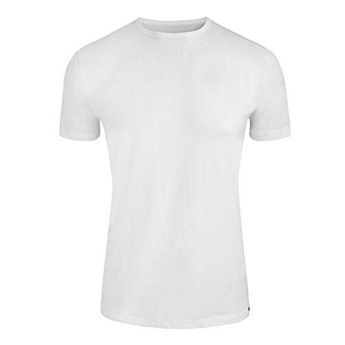 Jockey Modern Stretch Rundhals T-Shirt 3er Pack Weiß