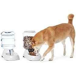 AmazonBasics - Dispensador de agua y comida