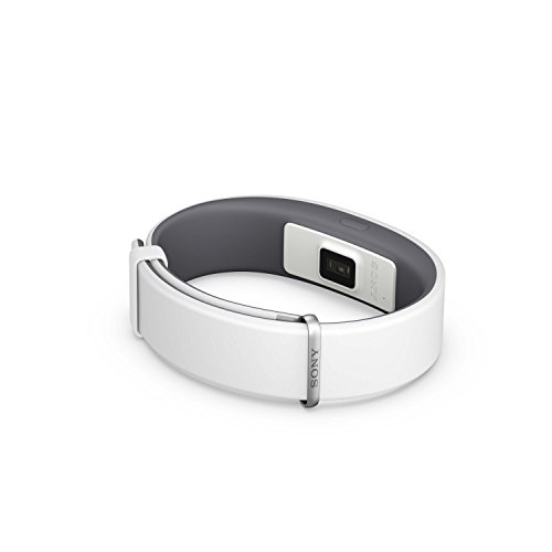 Sony Braccialetto Fitness Tracker per Smart Band 2 SWR12 - Bianco