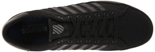 K-Swiss BELMONT SO T Herren Sneakers Schwarz (Black/Charcoal 006)