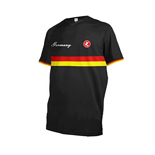 Uglyfrog 2018 New Sports Wear Herren Downhill/MTB Jersey Nationalflagge Streifen Muster Design Mountain Motorrad Kleidung Fahrradtrikot Kurzarm Freeride BMX Top