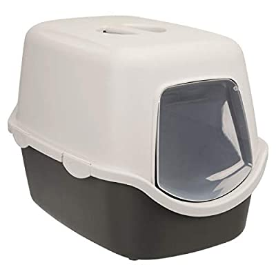 Trixie Vico cat litter tray, with hood